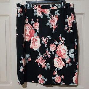 Lavish  floral skirt